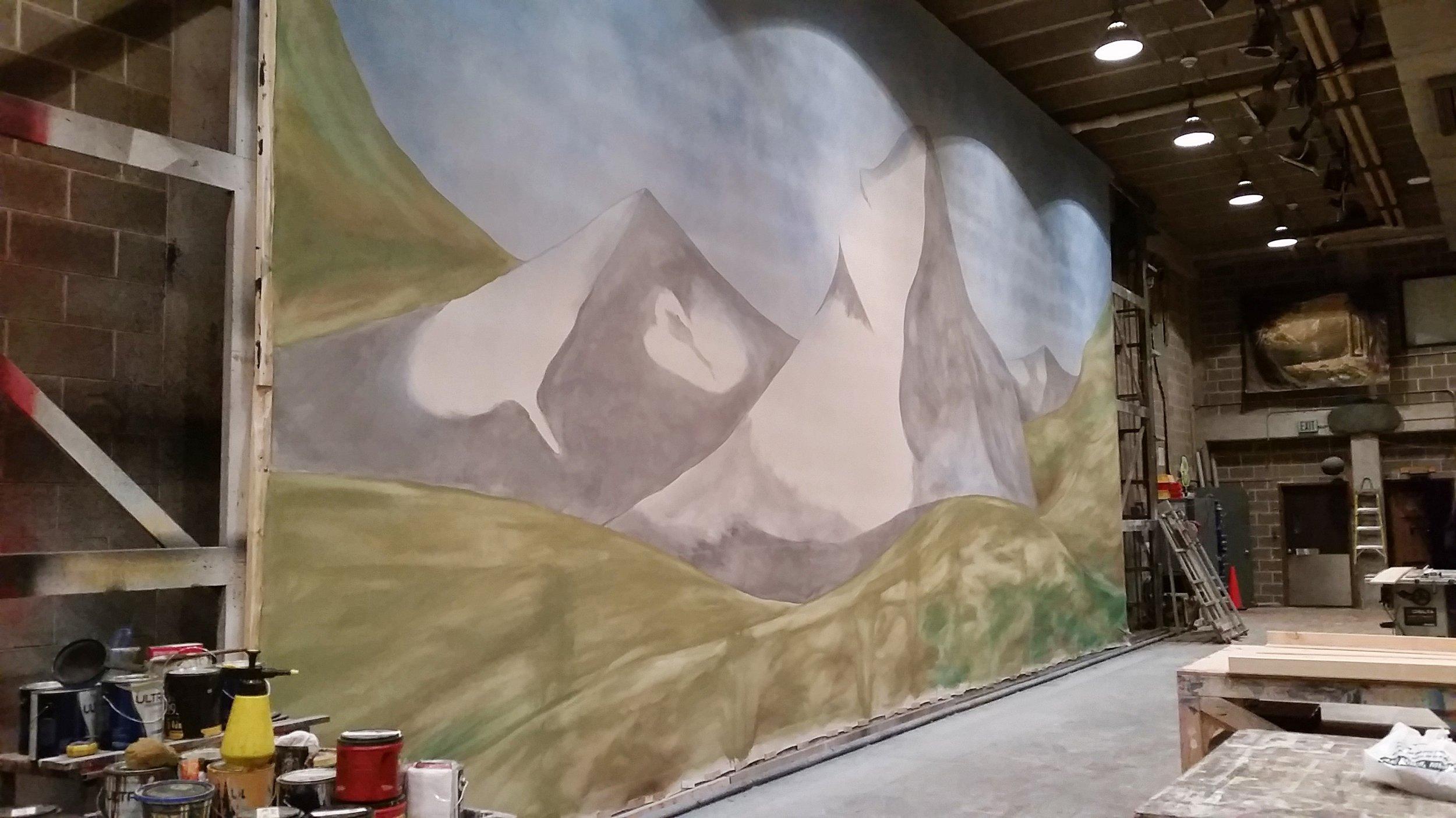 In Process Landscape Drop