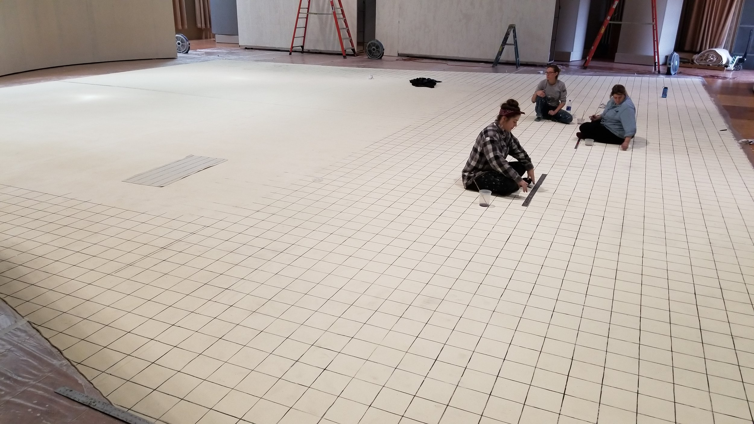 Gridded Floor Process