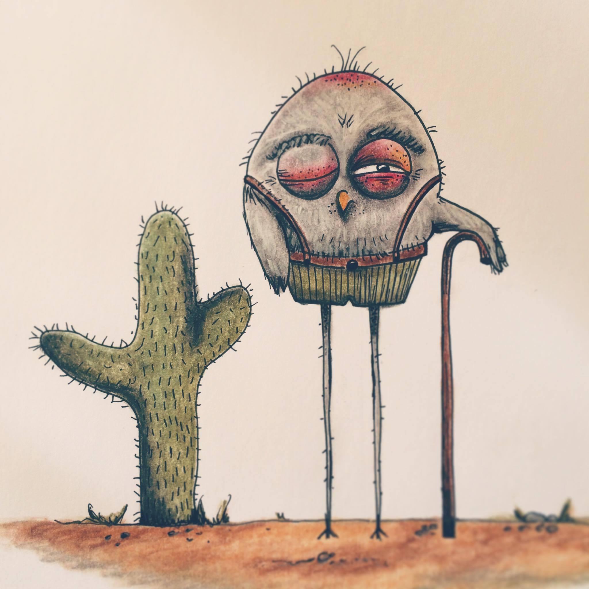 """""""A friend in the desert"""""""