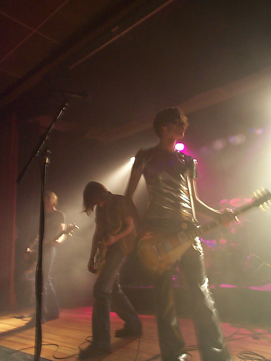 "The show lasted 2 hours, ""March"" was played in the second set (shown here)"