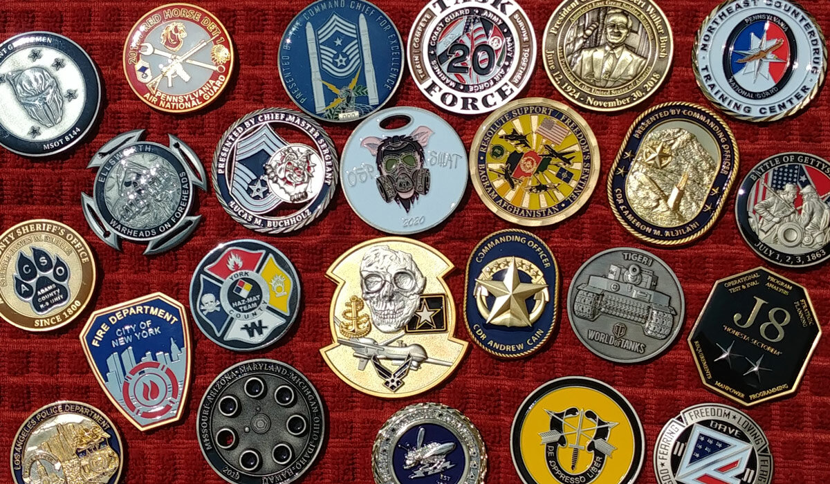 Enter to win 100 FREE custom challenge coins from Gray Water Ops Gray Water  Ops, LLC Custom challenge coins, made in America custom lapel pins and  custom patches