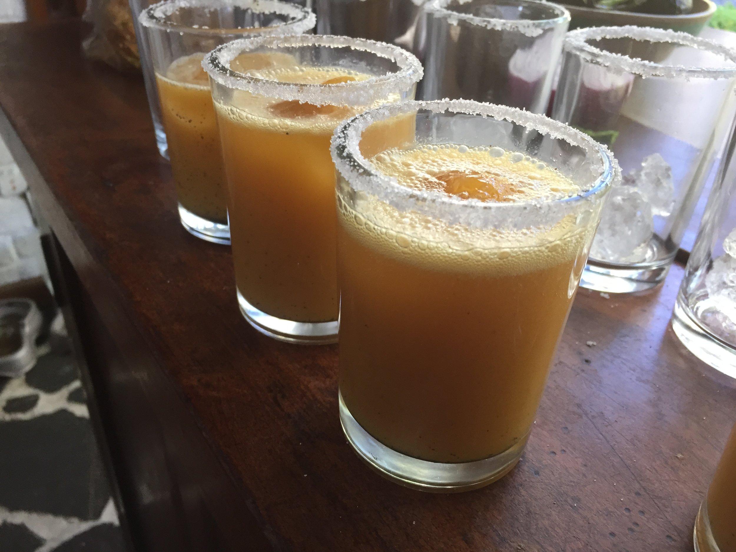 Passion Fruit Margaritas