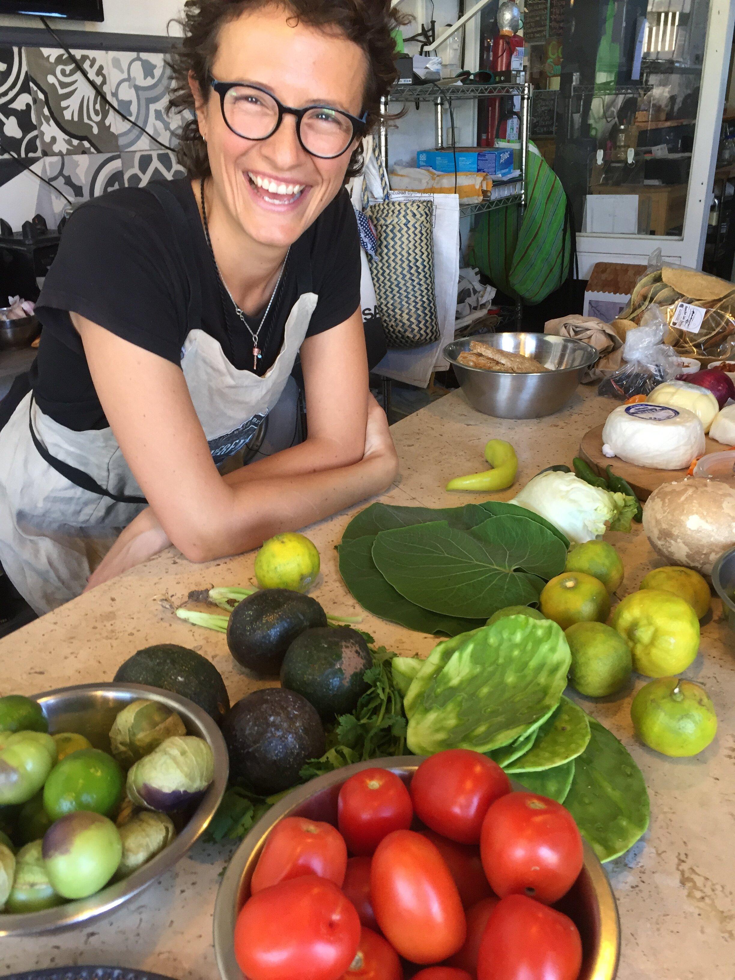 Chef Esmeralda, owner of  Querencia