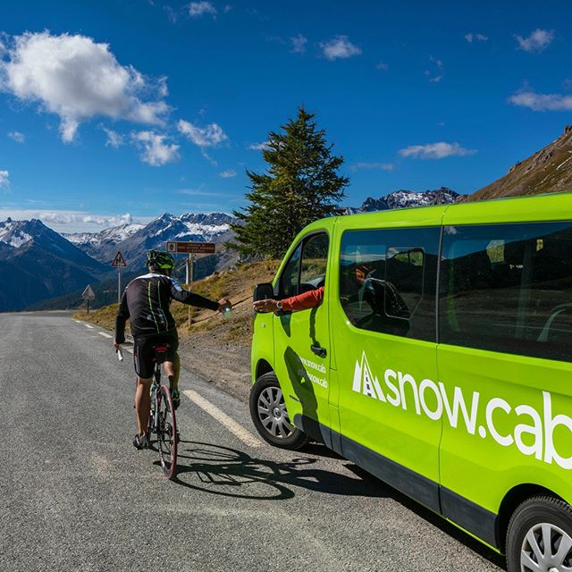 You can still book your snow cabs in the summer.  Perfect for cycling, hiking or climbing trips in the stunning alps.⠀ .⠀ .⠀ .⠀ #cycling #roadbikes #cycletrip #transfers #alpstransfers #snowcab #snowholiday #wegetyoutherewithcare #mountainlifenow #alps #hautealps #myhautealps #mountain #mountains #frenchalps #peak #holidays #explore #trip