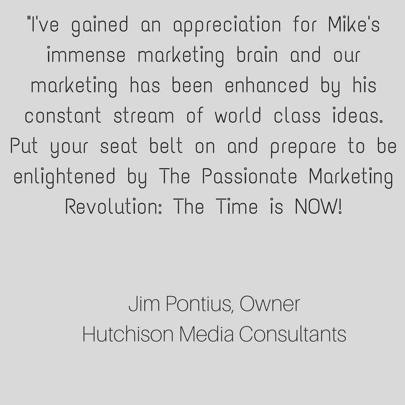 There are only two business strategies available to you. The first is a transactional strategy, recognized by its great lack of caring. The other is deeply caring, or what Mike here describes correctly as People and  (8).png