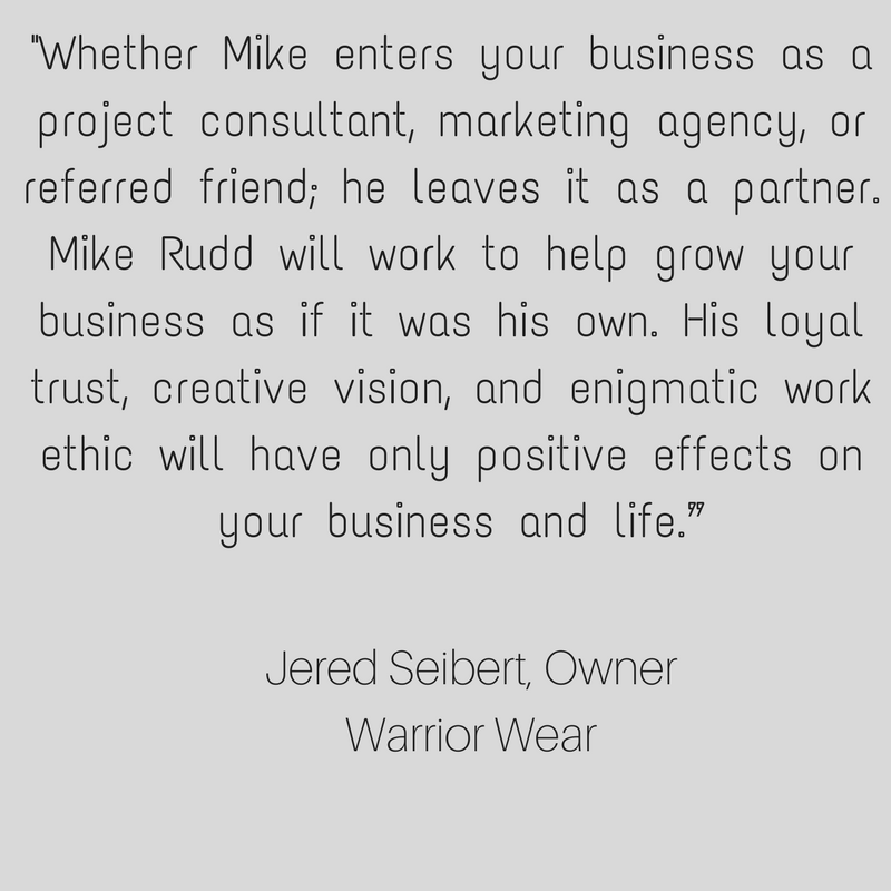 There are only two business strategies available to you. The first is a transactional strategy, recognized by its great lack of caring. The other is deeply caring, or what Mike here describes correctly as People and  (11).png
