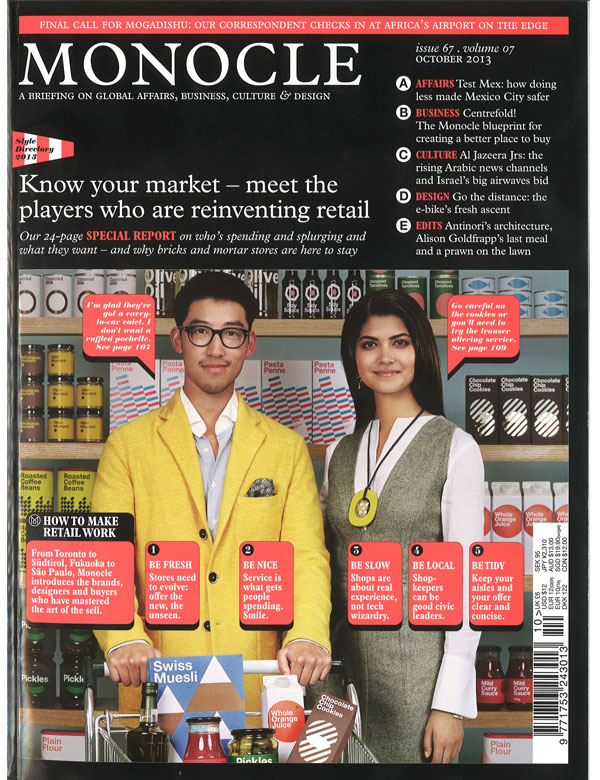 Monocle, October 2013