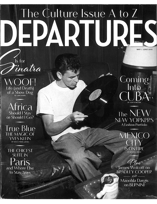 DEPARTURES, MAY / JUNE 2015