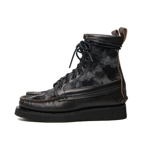 Maine Guide Boots - Black Camo — YUKETEN