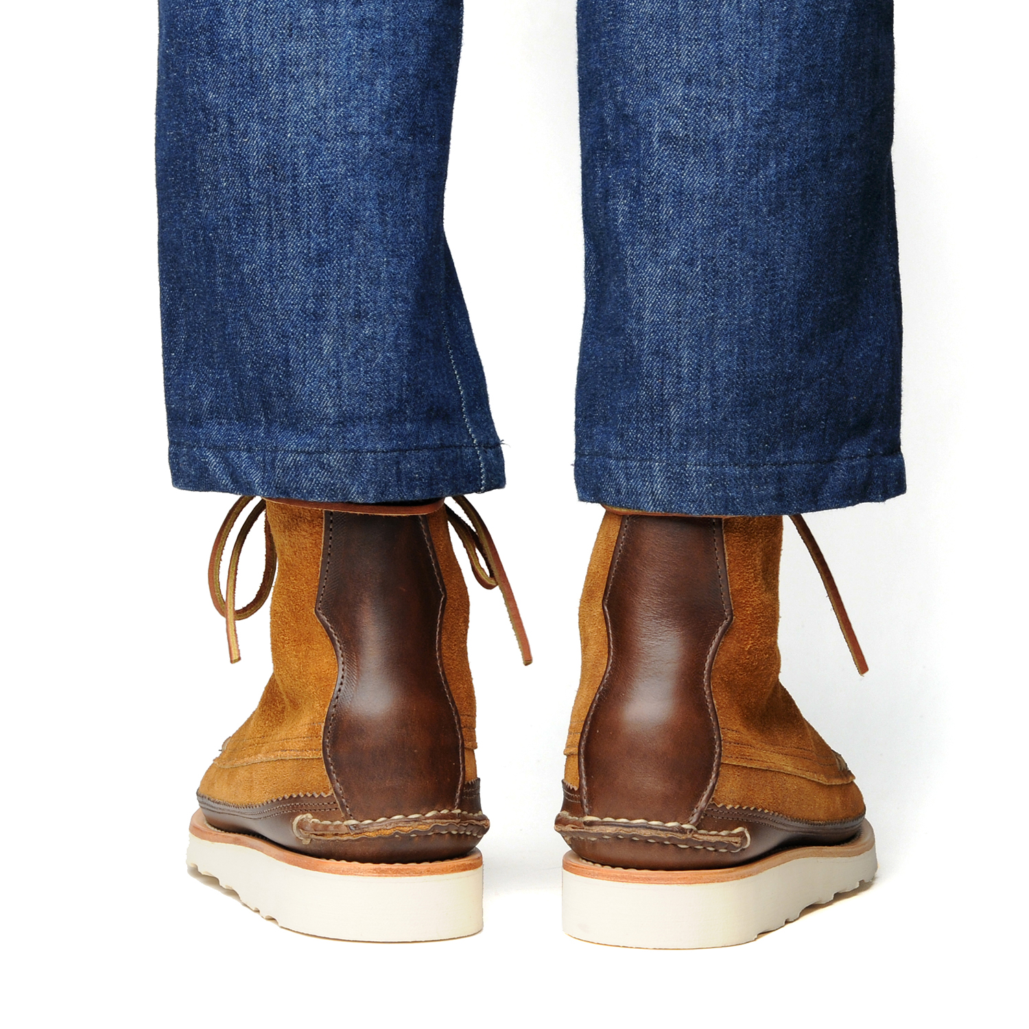 18005PM-Maine-Guide-DB-Boots,-FO-G-Brown,-Wear-Back.jpg