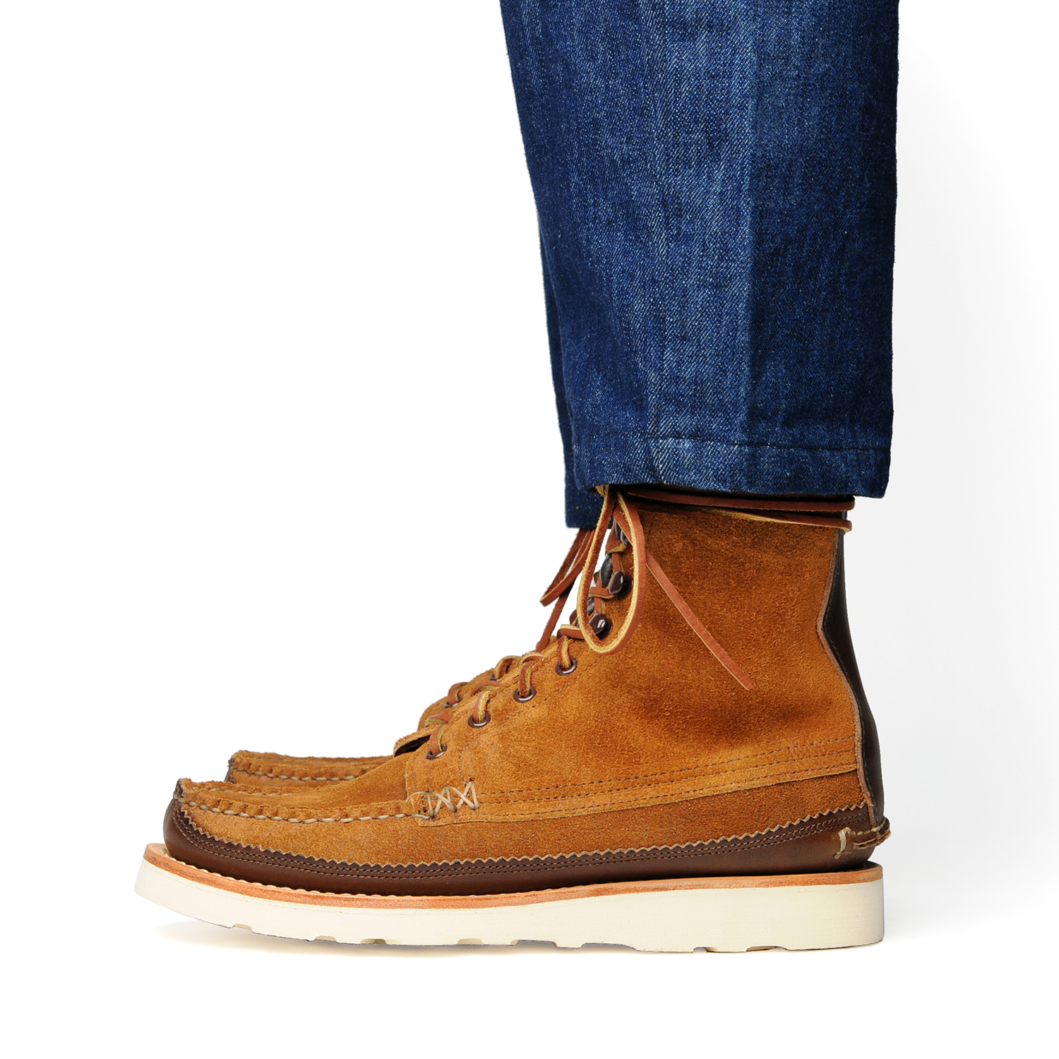 18005PM-Maine-Guide-DB-Boots,-FO-G-Brown,-Wear-Side.jpg
