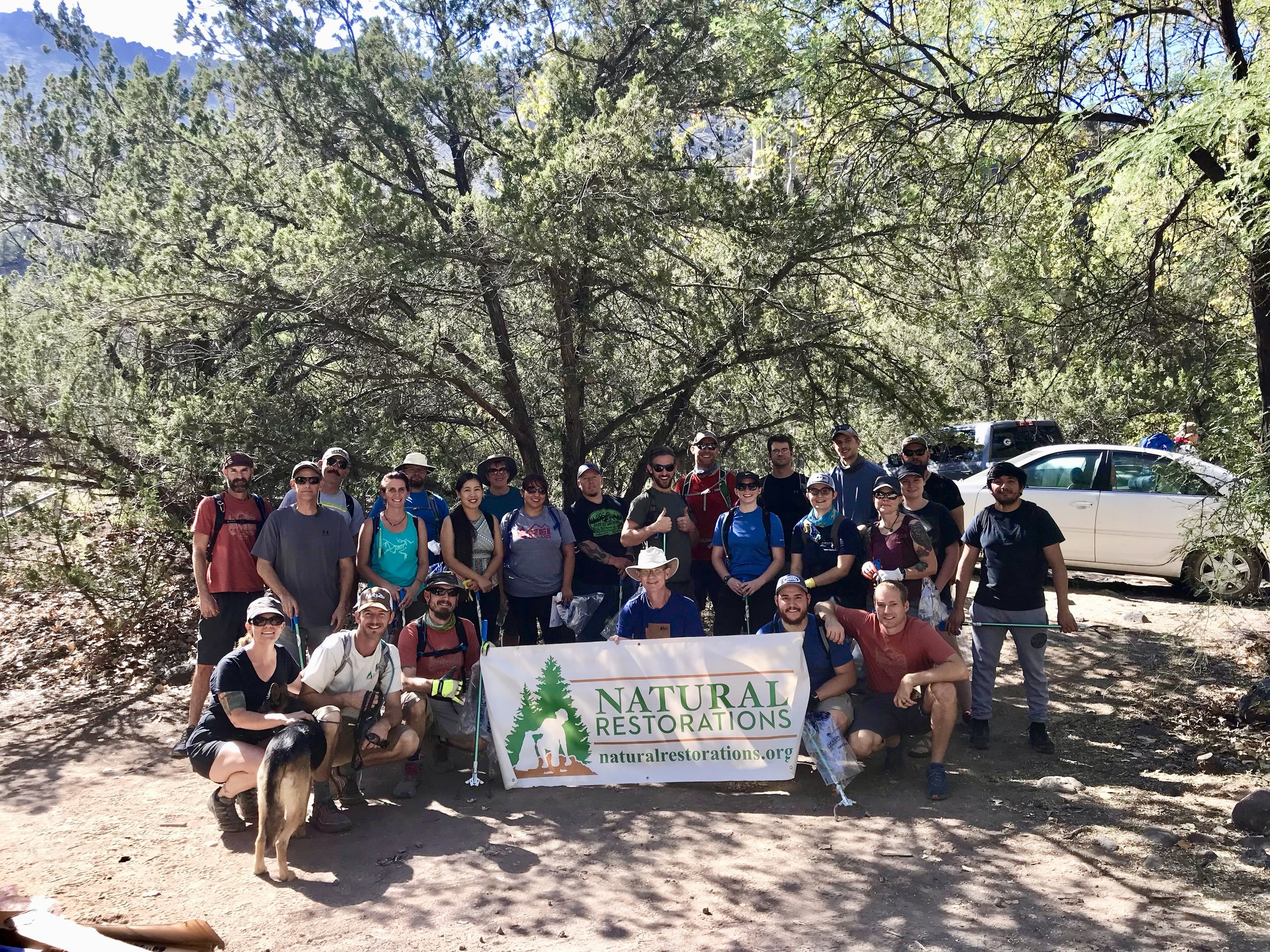 09/15/18 - Bull Pen Day Use Area Cleanup with REI for International Costal Cleanup DayClick HERE to view the project.
