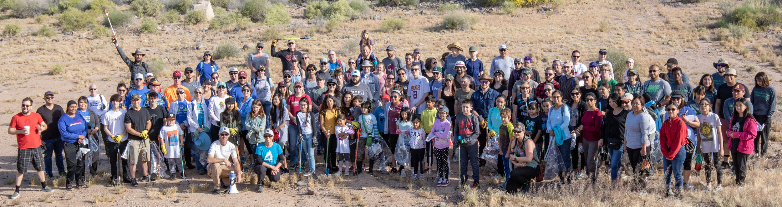 04/06/19 - Rio Salado Cleanup behind Liberty WildlifeClick HERE to view the project.