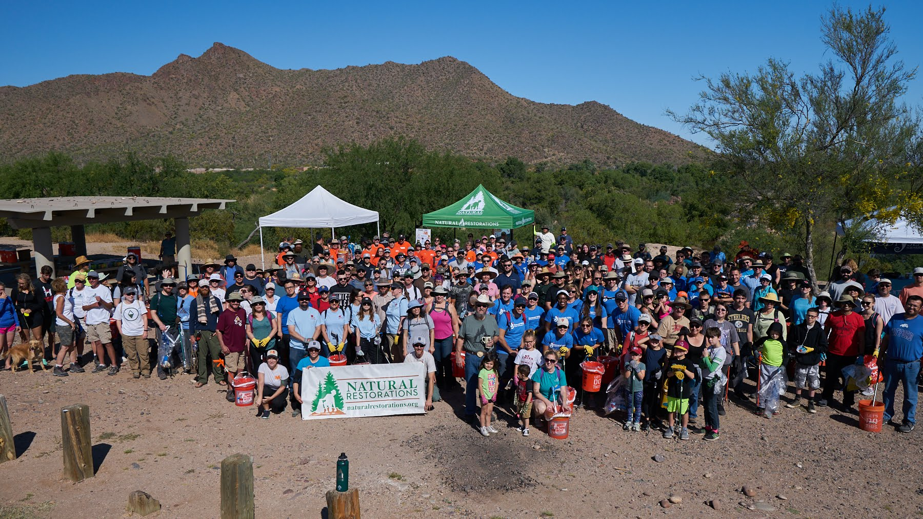 04/22/19 - Earth Day Lower Salt River CleanupClick HERE to view the project.