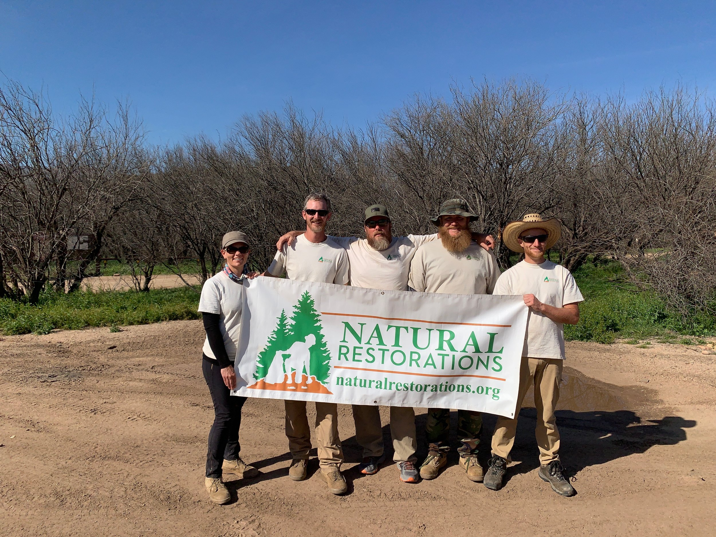 Mesquite Wash OHV Area - February 2019 - 2.63 tons removed!Check back soon for all of the details & pictures
