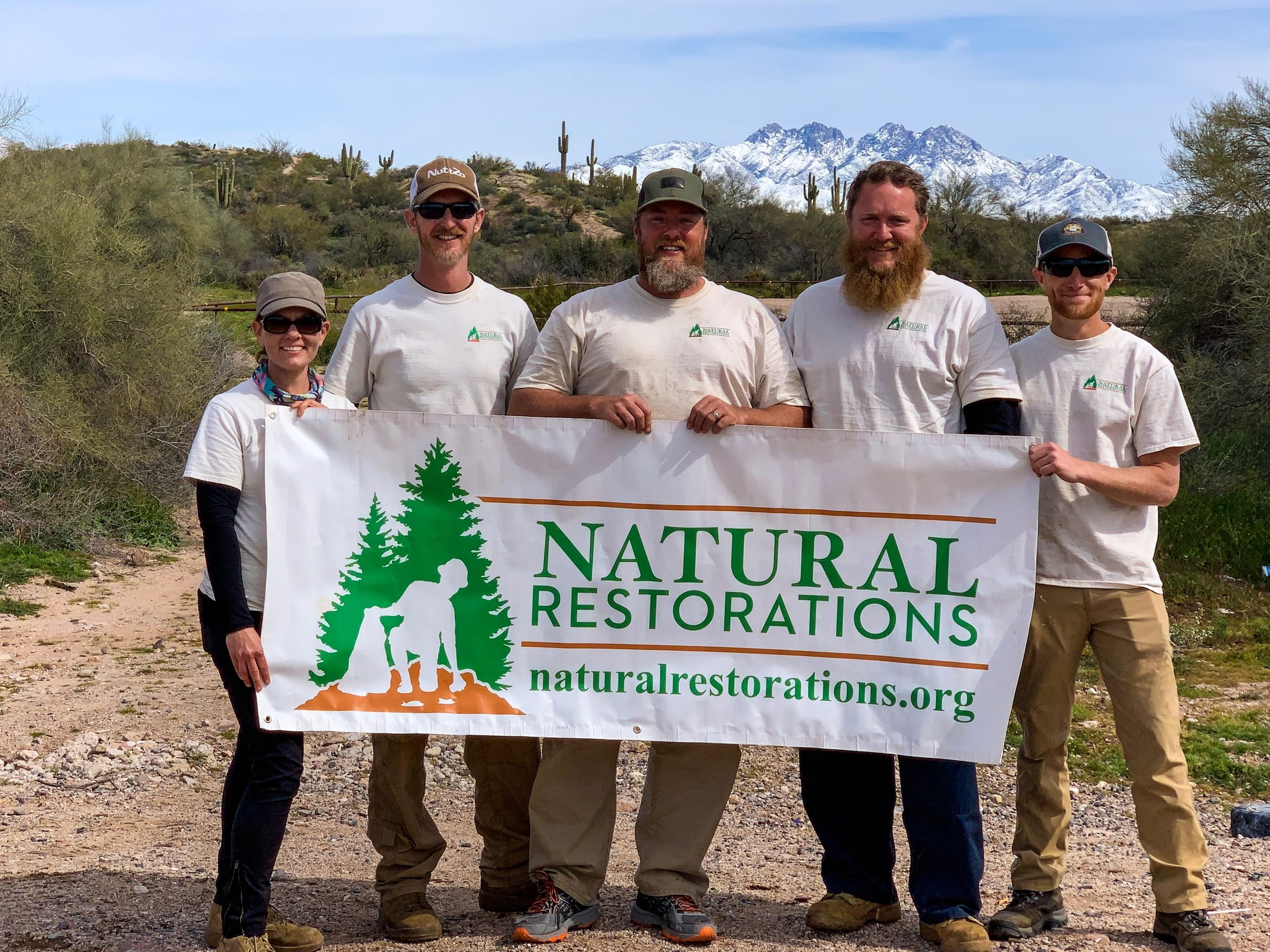 Dedicated Restoration Team - Lower Sycamore 2019
