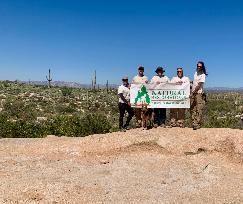 Florence Boulders OHV Area - March 2019 - 2-week project: 20,242 square feet of graffiti removed and 1.83 tons of trash removedCheck back soon for all of the details & pictures