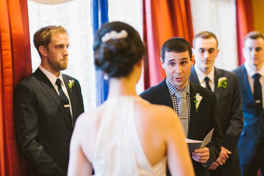 Hotel Marlowe Wedding Ceremony