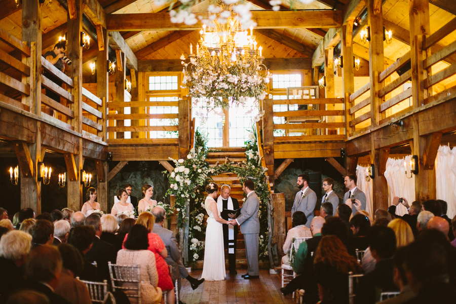 Creative Barn Wedding Ceremony