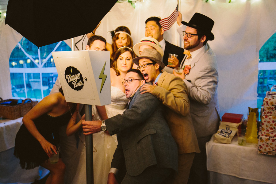 New England Wedding Photo Booth