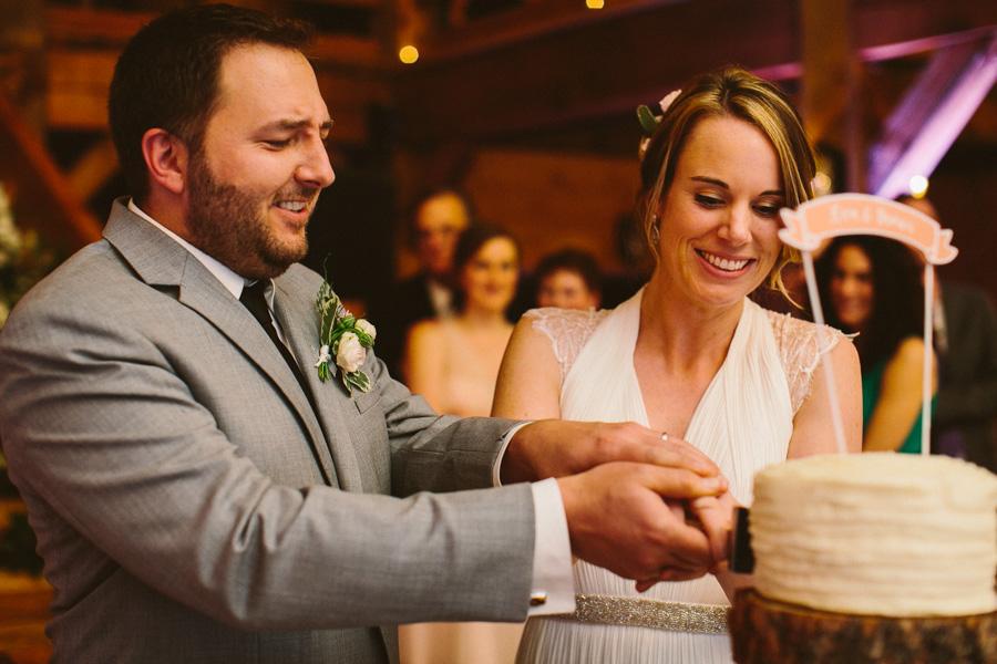 Massachusetts Barn Wedding Reception