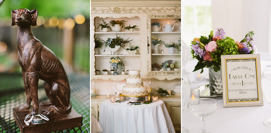 Vintage Inspired Wedding Details
