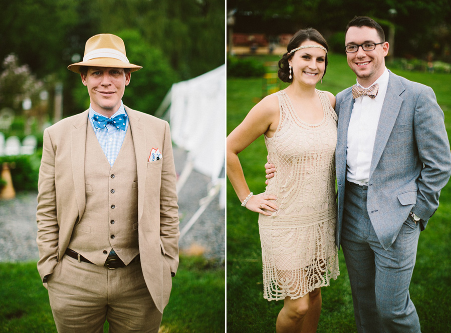 Vintage Inspired Wedding Guests