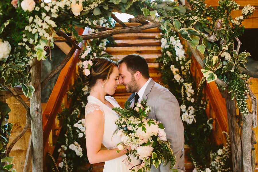 Intimate New England Barn Wedding