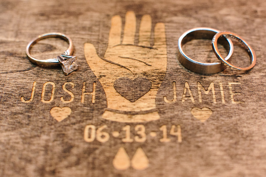 New England Rustic Wedding Details