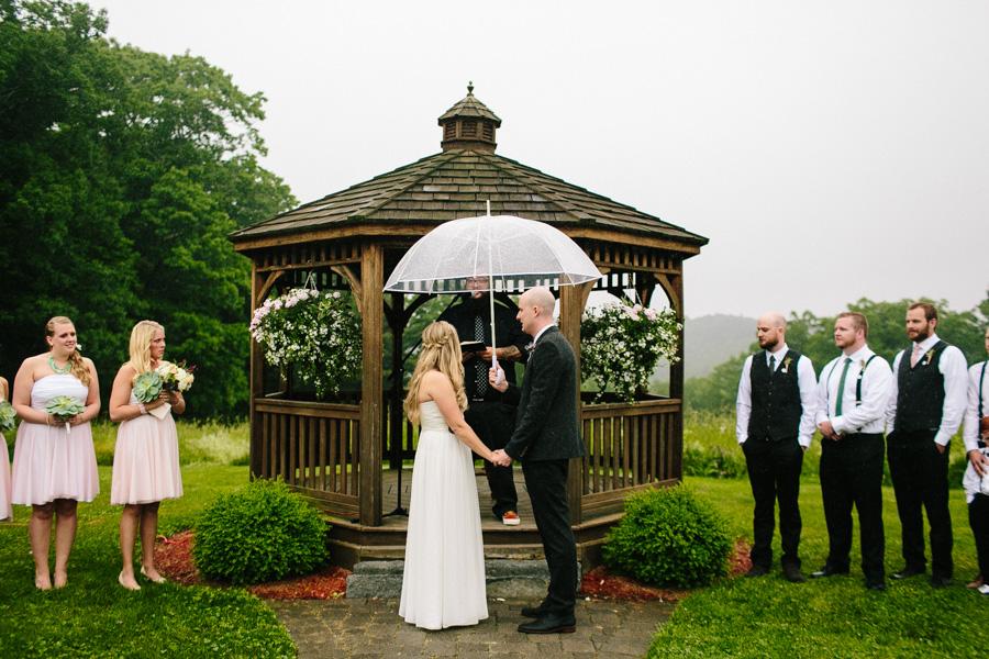 Zuka's Hilltop Barn Wedding Ceremony
