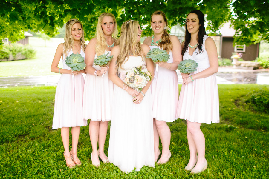 Hip New England Bridal Party
