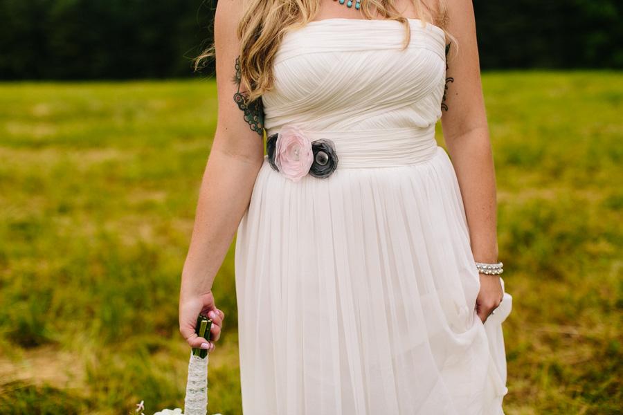 Tattooed New England Bride