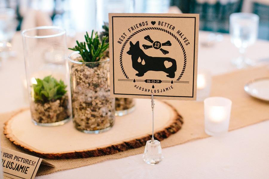 Corgi Wedding Details