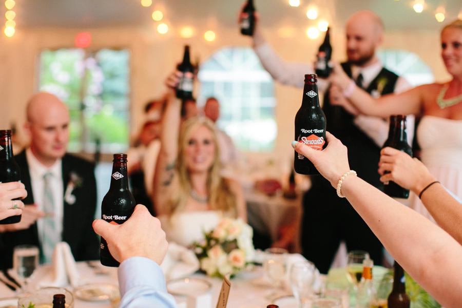 Root Beer Wedding Toast