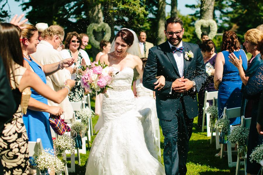 Newagen Seaside Inn Wedding Ceremony