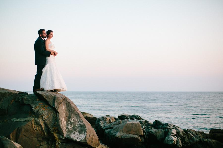 Maine Creative Wedding Portrait