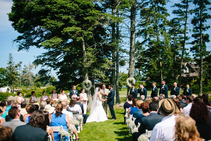 Creative Maine Wedding