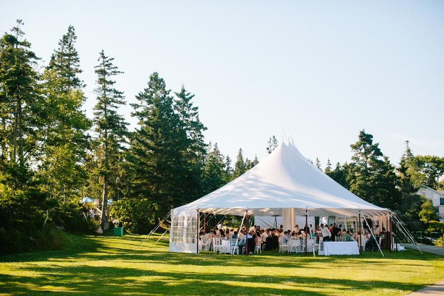 Newagen Seaside Inn Wedding Reception