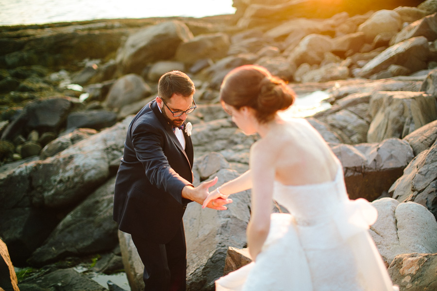 Newagen Seaside Inn Wedding Photographer