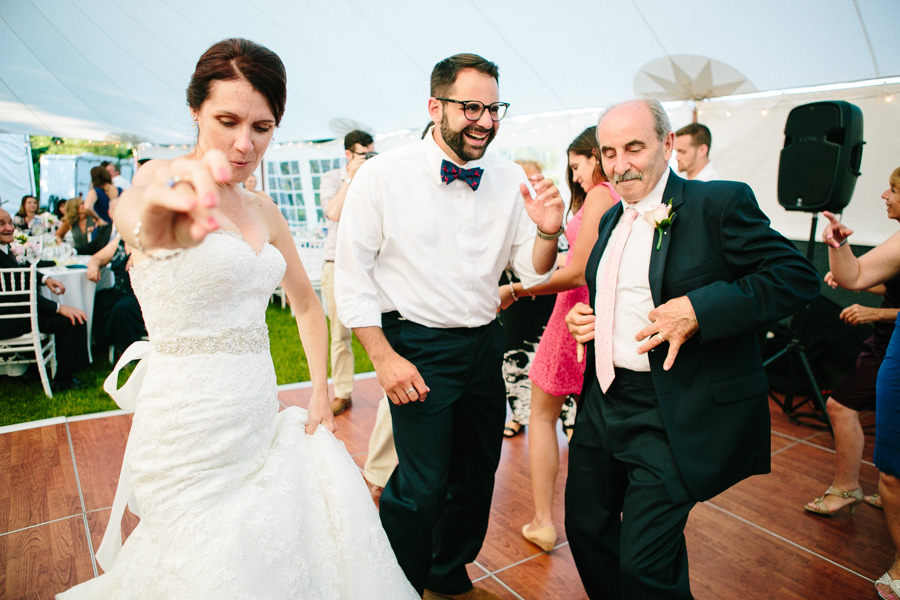 Creative Maine Wedding Reception