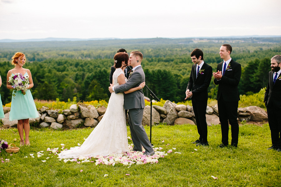 Fruitlands Museum Wedding Ceremony