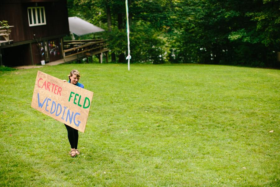 New England Summer Camp Wedding