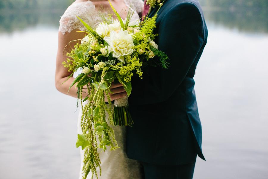 New England Summer Camp Wedding Portraits