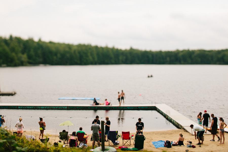 New Hampshire Summer Camp Wedding