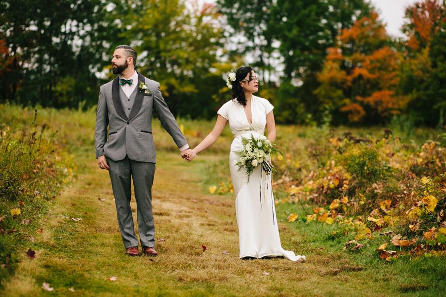 Hip New England Fall Wedding