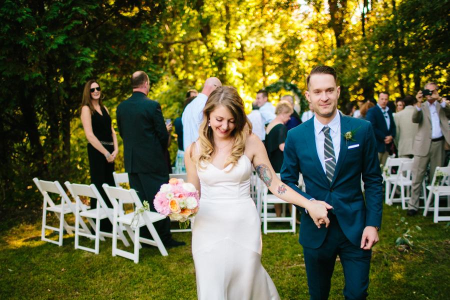 Creative New England Wedding Ceremony