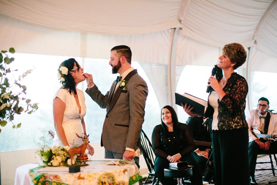 Fruitlands Museum Wedding Ceremony