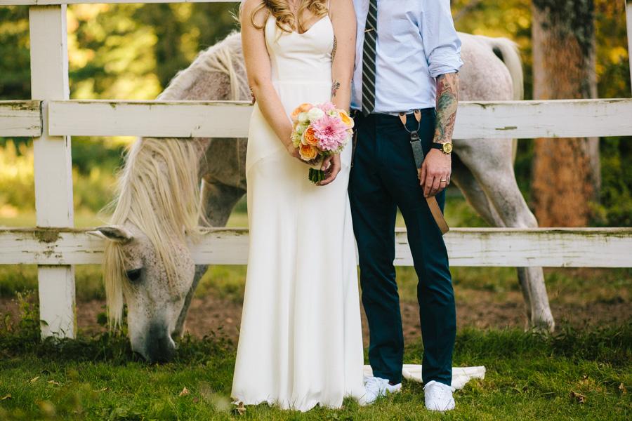 Creative Horse Farm Wedding