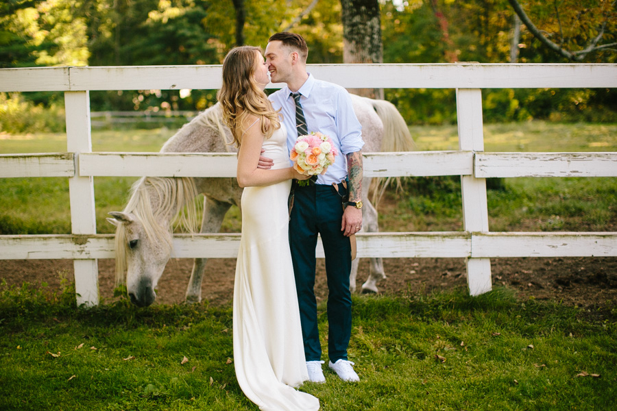 Creative Horse Farm Wedding Photography