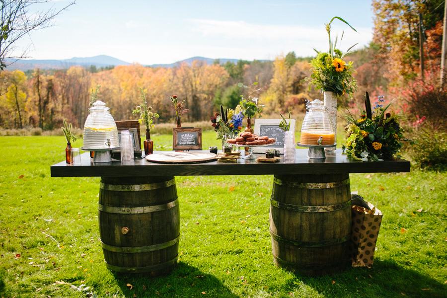 DIY New Hampshire Wedding